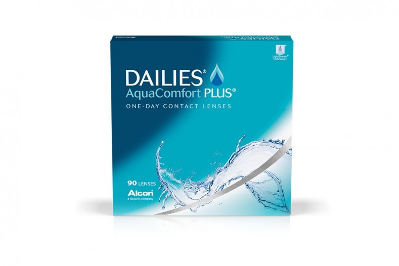 Dailies Aqua Comfort Plus 90 pack