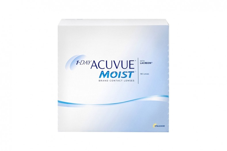 1-Day Acuvue Moist 180 pack